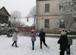 Игре на снегу